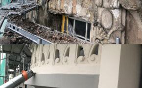 Fasādes balkona renovācija